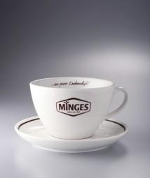 MINGES Tassenkombi Milchkaffee (2-FA bedruckt)