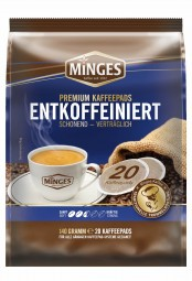 140g (20er) MINGES Röstkaffee Entcoffeiniert